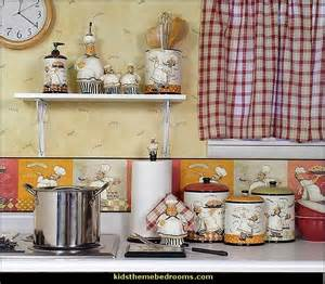 italian fat chef kitchen decor design on vine