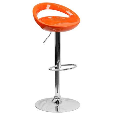 Metal Swivel Bar Stool Modern Plastic Adjustable Height Metal Bar Stool Swivel Color Circle Seat Chair Ebay