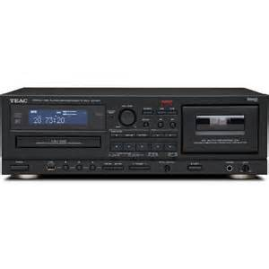 Teac ad 800 cd player and auto reverse cassette deck with usb