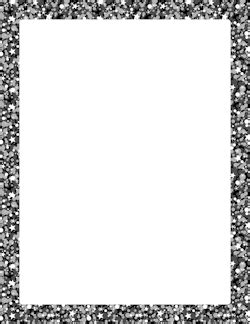 free glitter borders: clip art, page borders, and vector