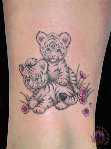 tiger cub tattoo designs tiger cubs animal tattooshunt