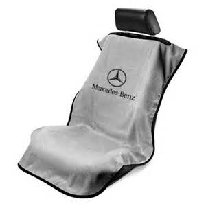 Seat Covers Mercedes Seat Armour 174 Sa100mbzg Gray Towel Seat Cover With