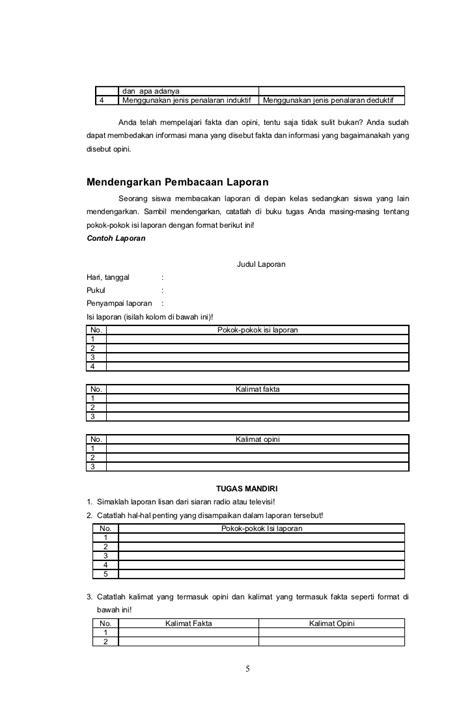 membuat kalimat opini dan fakta contoh kalimat fakta dan opini bahasa indonesia contoh wa