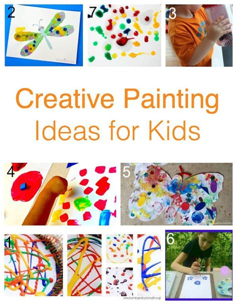 painting ideas for kids 1000 images about kid s art on pinterest exploring kid