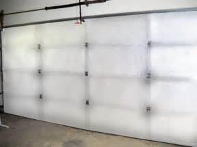supershield reflective white car garage door