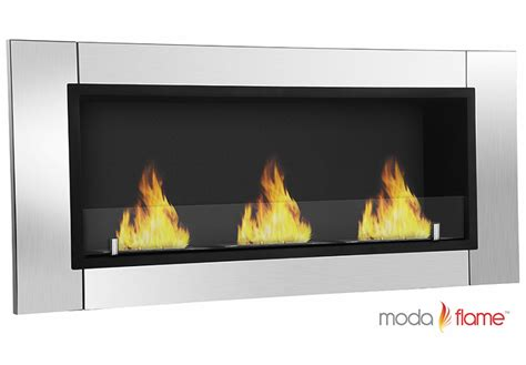 moda devant ventless bio ethanol wall mounted
