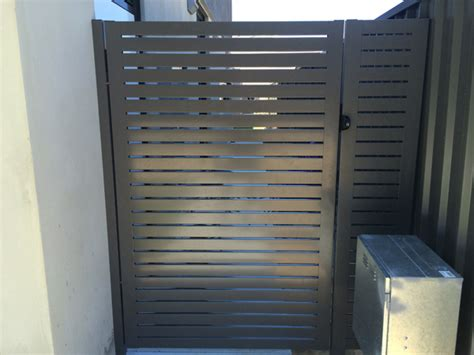 side house gates colorbond gates in perth smoothline