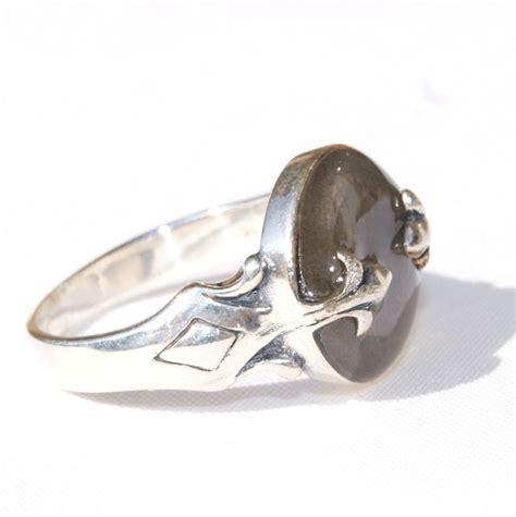 fleur de lis sterling silver cremation ring recent