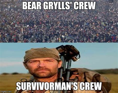 Bear Grylls Blood Meme - survivorman gt grylls imgflip