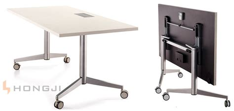 China With Multi Purpose Socket On Table Top Mobile Office Foldable Office Desk