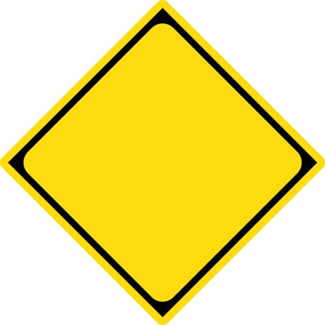sign templates road sign template clipart best