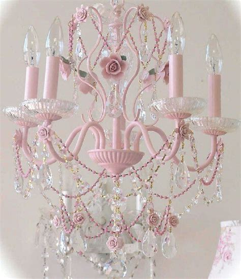25 best ideas about pink chandelier on retro