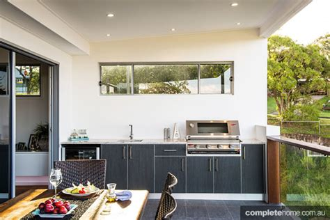 Outdoor Kitchen Bbq Designs Three Amazing Outdoor Kitchens Completehome