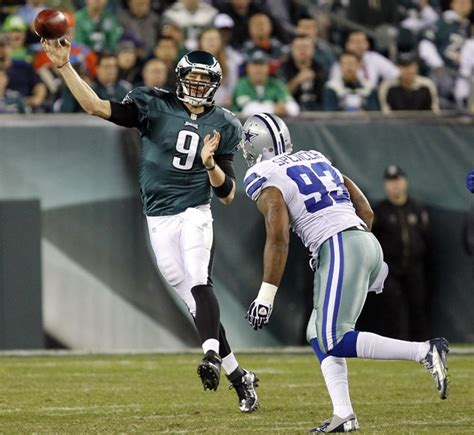 nick foles benched michael vick out philadelphia eagles coach andy reid