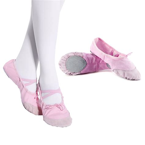 canvas ballet shoes slippers pointe