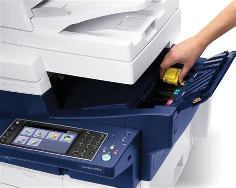 Toner Printer Fuji Xerox showcasing the cartridge free colorqube 8900 with solid