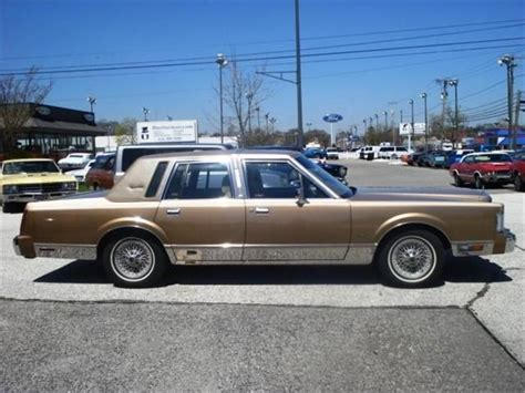 all car manuals free 1986 lincoln continental engine control 1986 lincoln continental information and photos momentcar