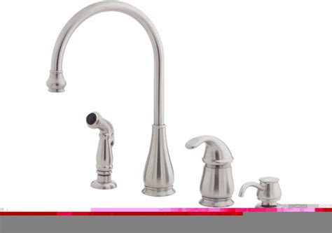 Price Pfister Treviso Kitchen Faucet Price Pfister 519866 Treviso 1 Handle 4 Lead Free Kitchen Faucet W Sidespra Modern