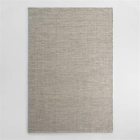 graue wolldecke gray metallic woven jute alden area rug world market