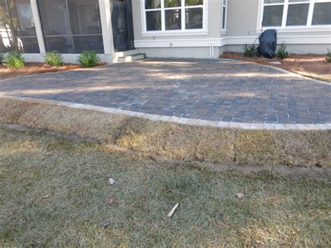 Raised Paver Patio Delimma How To Build A Raised Paver Patio