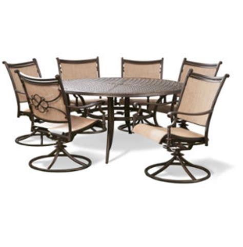 vgmgvista renava vista 7 pc outdoor dining table vista 7 pc dining set furniture