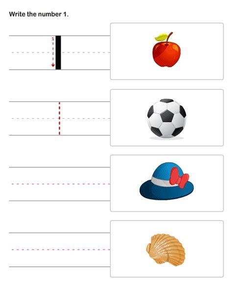 printable numbers for pre k number writing worksheet for kindergarten writing number