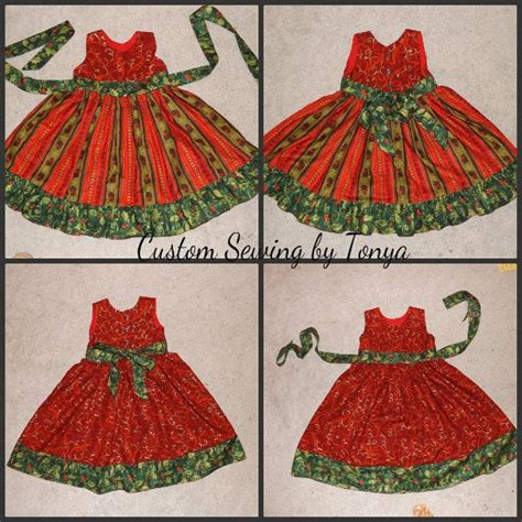 Boutique christmas toddler dress pageant by customsewingbytonya 41