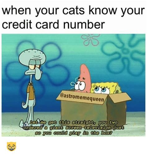 Credit Card Meme - 25 best memes about credit card numbers credit card