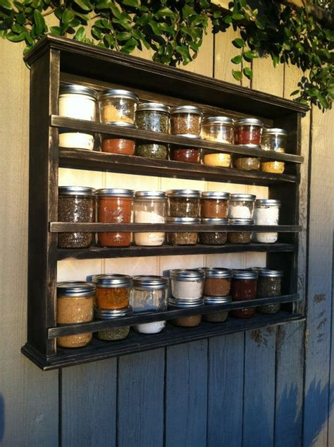 diy wood spice rack woodworking projects plans