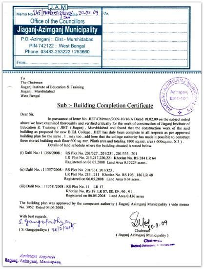 certificate of occupancy template building completion certificate sle pic occupancy