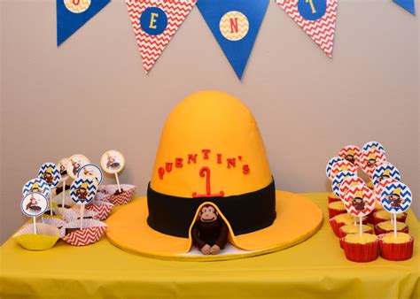 Toddler Playroom Ideas by Curious George Themed 1st Birthday Party Project Nursery