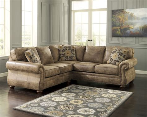 laf sectional larkinhurst earth 2 pc laf loveseat sectional 31901