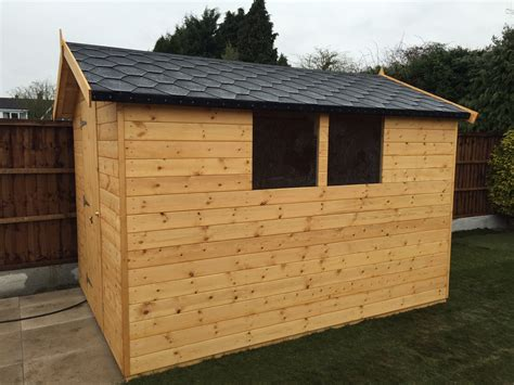 Felt On Shed Roof by Sheds Gallery Eaton Fencing