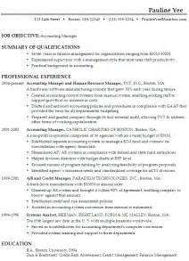 Accounts Jobs Resume Format by Free Resume Samples For Accounting Jobs