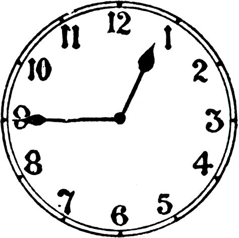 quarter to four clock clipart quarter pencil and in color clock clipart