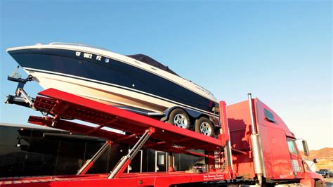 shipping boat on trailer how to ship a boat boat shipping service boat on