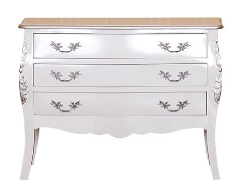 Commode Bébé Blanche by Commode De Style Baroque Design