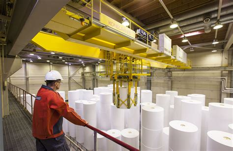 Paper Industry - konecranes has every stage of the pulp and paper industry