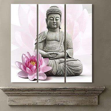 free shipping gold buddha oil painting wall art paintings lotus spray promotion shop for promotional lotus spray on