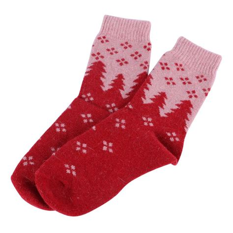 christmas sock women men winter warm christmas socks snowflake deer wool
