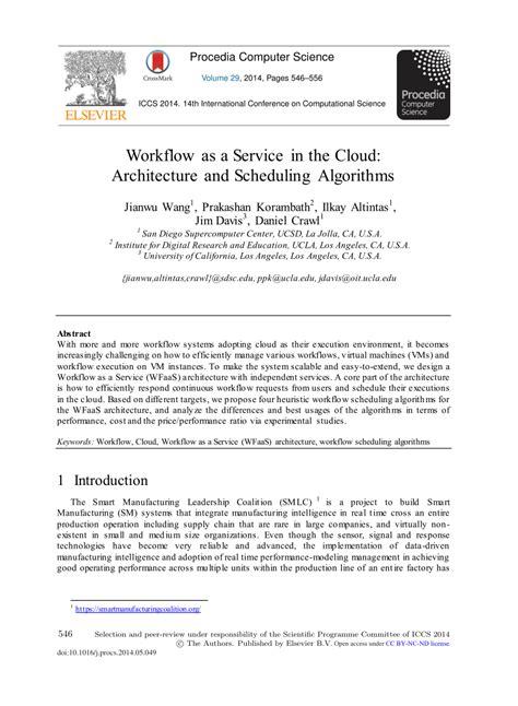 workflow as a service workflow as a service in the cloud pdf