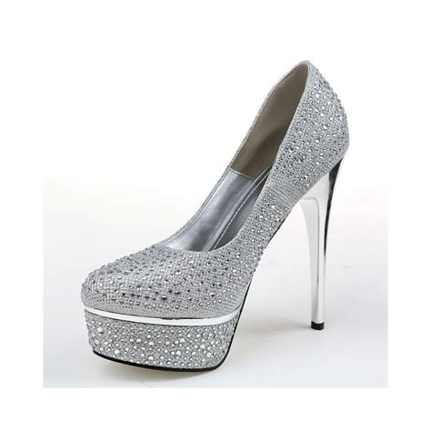 Bridal Pumps by Bridal Metalic Diamante Pumps Fashion