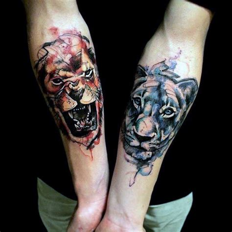 inner forearm tattoos for guys 85 tattoos for a jungle of big cat designs