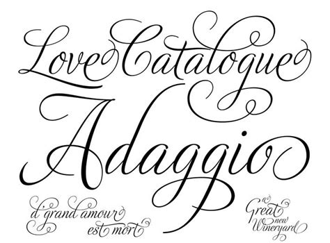 Wedding Fonts Cursive by Wedding Fonts Paper Things Weddings
