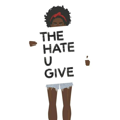 470044 the hate u give book review the hate u give by angie thomas the red