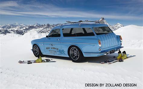 2015 Zolland Design Volvo Amazon Custom Wagon Static 5 1920x1200 Wallpaper