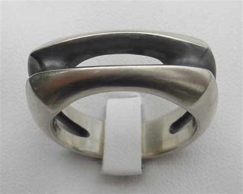 unique mens designer silver ring love2have in the uk