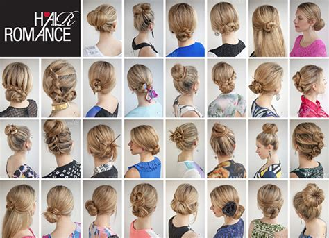 hairstyles to do on a bad hair day the 30 buns in 30 days hairstyle ebook is here hair romance