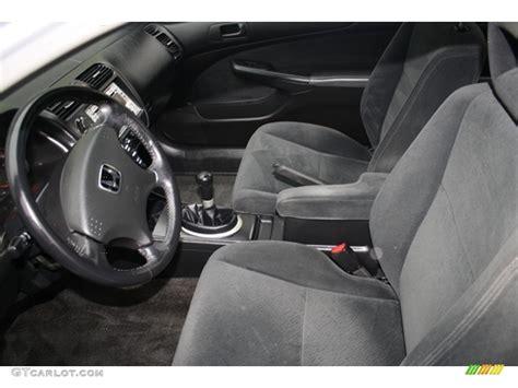 2005 Honda Civic Lx Interior by Black Interior 2005 Honda Civic Lx Coupe Photo 59046103 Gtcarlot