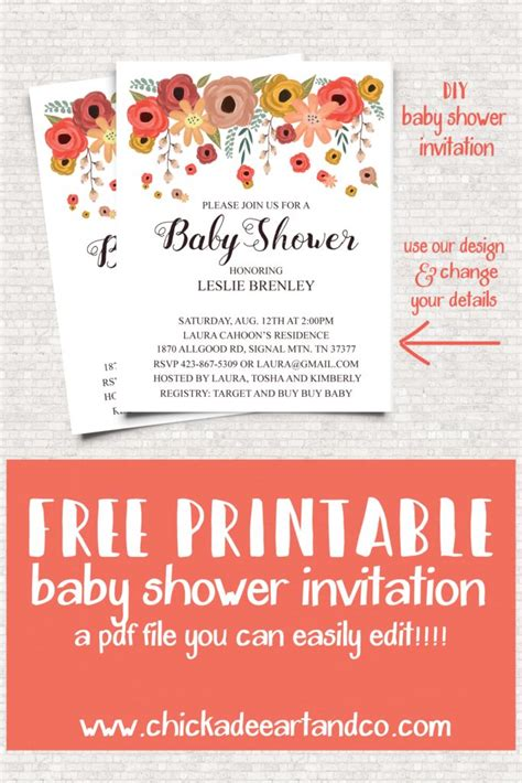 Free Baby Shower Invitations To Print At Home by Free Baby Shower Invitations To Print At Home Oxyline